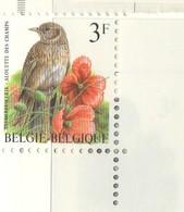 PIA - BEL - 1997 : Serie Corrente : Uccello : Allodola Dei Campi - (Yv 2703) - Belgique