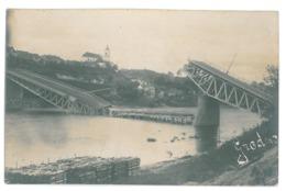 BL 24 - 13337 GRODNO, Belarus, Bridge - Old Postcard, Real PHOTO - Used - 1915 - Belarus