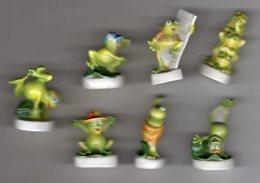Série 7/9 Fèves Brillantes GRENOUILLES MANIA Grenouille/frog ARGUYDAL 2002 - Animals
