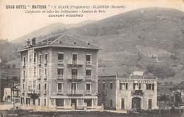 "CPA - Espana / Spain - ELIZONDO, Gran Hotel "" Maitena "" - Navarra (Pamplona)"