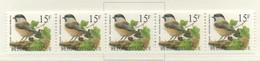 PIA - BEL - 1997 : Serie Corrente : Uccello : Cincia Boreale - Per Macchine Distributrici - (Yv 2732x5) - Belgique