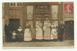 LAIGLE Carte Photo 21 RUE DE LA GARE(Republique) 1911 - L'Aigle