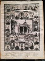Rebecq-Rognon . Gloire à Nos Héros Tombés Au Champ D'honneur. 1914-1918 - Documents