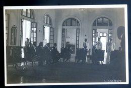 Cpa Carte Photo Haïti 15 Mai 1930 Palais National Ex Président Borno Président Eugène Roy Photographe Louis Doret YN32 - Haití