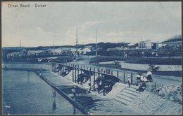 Ocean Beach, Durban, Natal, 1911 - Rittenberg Postcard - South Africa