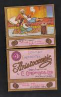 ARISTOCRATIC  C.COLOMBOS LTD.CAIRO MALTA  PACKET OF 6 CIGARETTE - 1910 VERY RARE - - Empty Cigarettes Boxes