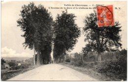 91 ORSAY - L'avenue De La Gare Et Le Chateau Du ... - Orsay