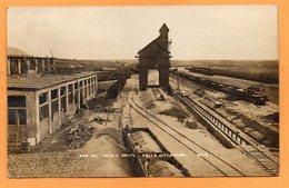 Falls City NE Railroad 1930 Real Photo Postcard - Vereinigte Staaten