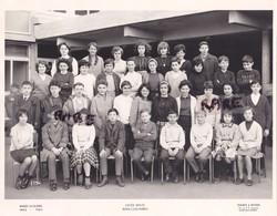 PHOTO ANCIENNE,CLASSE,92,HAUTS DE SEINE,LYCEE D'ETAT MIXTE ALBERT CAMUS,BOIS COLOMBES,1963-1964,RARE - Lieux