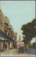 Fum El Khalig, Cairo, C.1905 - Lichtenstern & Harari Postcard - Cairo