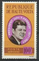 "Hte-Volta Aerien YT 19 (PA) ""John F. Kennedy "" 1964 Neuf** - Haute-Volta (1958-1984)"