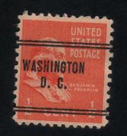 USA 468 SCOTT 803 WASHINGTON D.C. - Etats-Unis