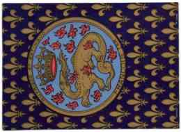 Salamandre - Emblème De François Ier Fils De Charles D'Orléans Comte D'Amgoulême Et De Louise De Savoie - Familles Royales