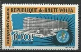 """Hte-Volta Aerien YT 30 (PA) """" Siège De L'OMS """" 1966 Neuf** - Haute-Volta (1958-1984)"""
