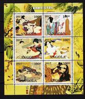 Angola 2017. Kama Sutra. Erotica Art. Tine MNH - Angola