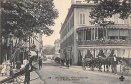 BIARRITZ.- HOTEL D'EUROPE ET LA RUE DE FRANCE - Biarritz