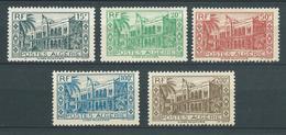 ALGERIE 1944 . Série N°s 200 à 204 . Neufs **  (MNH) - Unused Stamps