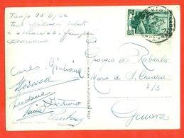 Italia 1952.Postcard Passed Mail. - Cactusses