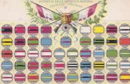 1920ca.-Distintivi Delle Brigate Di Fanteria Esercito Italiano , - Militaria