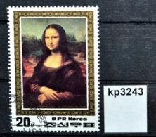 Kp3243 Mona Lisa, Leonardo Da Vinci, La Joconde, La Gioconda, KP 1986 - Korea (Noord)