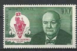 """Hte-Volta Aerien YT 32 (PA) """" W. Churchill """" 1966 Neuf** - Haute-Volta (1958-1984)"""