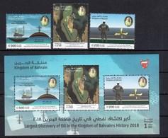Bahrain 2018 Largest Discovery Of Oil SS + 3v MNH - Bahreïn (1965-...)