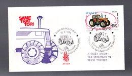 ITALIA : FDC VENETIA - Costruzioni  Automobilistiche - SAME Trattori - Treviglio  (BG)  10.03.1984 - F.D.C.