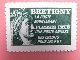 France - Vignette Sabine Bretigny - Neuf - Vignette De Protestation - Sonstige