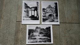 3 Photos  Environs De Laon Ruines Chateau Presles Porte D'ardon Guerre 1870 Documents Archive - Lieux