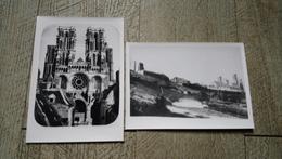 2 Photos Cathédrale  De Laon  Documents Archive - Lieux