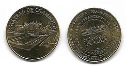 @+ Médaille Monnaie De Paris - Chateau De Chambord - 2018 - Monnaie De Paris