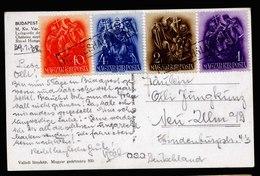 A5738) Hungary Ungarn Karte 30.1.38 Bahnpoststempel Hegyeshalom PU - Ungarn