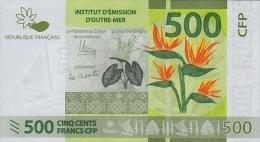FRENCH PACIFIC TERRITORIES P. 5 500 F 2014 UNC - Territoires Français Du Pacifique (1992-...)