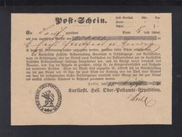Hessen Postschein 1864 - Preussen (Prussia)
