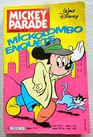 Mickey Parade - Mickolombo Enquête - Dingo - Donald - Rapetou - Mensuel N° 3 - 1987 - EDI MONDE - Mickey Parade