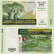 MADAGASCAR       2000 Ariary       Comm.     P-93a       2007       UNC - Madagascar