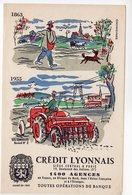Dec18      83209    Buvard   Crédit Lyonnais   Signé Hervé Baille - Banque & Assurance