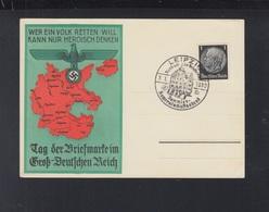 Dt. Reich PK 1939 Tag Der Briefmarke Im Gross-Deutschen Reich - Germany
