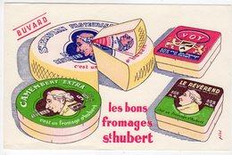 Dec18      83211   Buvard    Les Bons Fromages St Hubert - Produits Laitiers