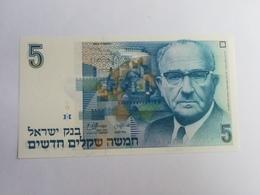 ISRAELE 5 SHEQEL 1985 - Israele