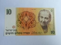 ISRAELE 10 SHEQEL 1985 - Israele
