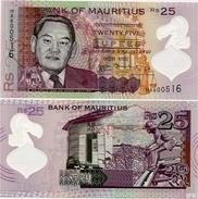 MAURITIUS       25 Rupees       P-64       2013       UNC - Maurice