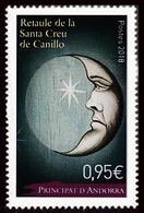 Andorre 2018 - Yv N° 823 ** - Retaule De La Santa Creu De Canillo - French Andorra