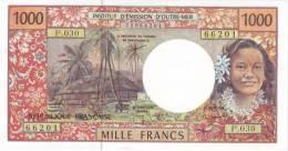 FRENCH PACIFIC TERRITORIES P. 2g 1000 F 1996 UNC - Territoires Français Du Pacifique (1992-...)