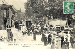 CLUIS - La Procession De La Trinité  - Le Cortège  - Ed. G.G. - Francia