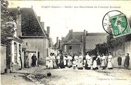 CLUIS - Sortie Des Ouvrières De L'atelier Richard   - Ed. G.G. - Otros Municipios
