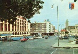 Angola - Luanda - Street Scene - Cars - Bus - Angola