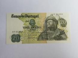 PORTOGALLO 20 ESCUDOS ORO 1971 - Portogallo
