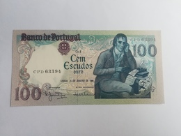 PORTOGALLO 100 ESCUDOS ORO 1984 - Portugal