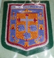 Rare écusson En Feutre/feutrine Et Tissu, Patch, Sta Santa Cruz De Tenerife, Armoiries, Espagne - Ecussons Tissu